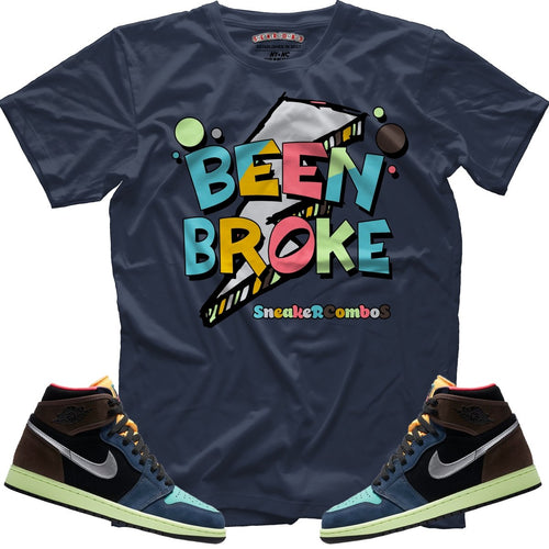 Been Broke (Bio Hack Retro 1's) T-Shirt - Sneaker Combos
