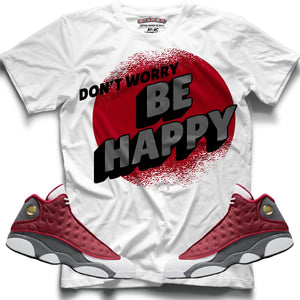 Don't Worry (Retro 13 Red Flint) T-Shirt - Sneaker Combos