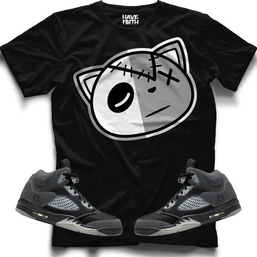 HAVE FAITH (ANTHRACITE RETRO 5'S) T-Shirt - Sneaker Combos