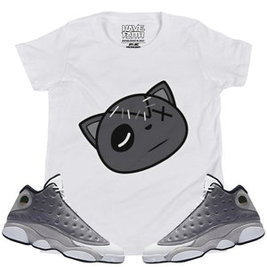 Have Faith (Atmosphere Grey 13's) Kids T-Shirt - Sneaker Combos
