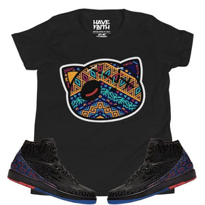 Have Faith (BHM 2's) Youth Short Sleeve T-Shirt - Sneaker Combos
