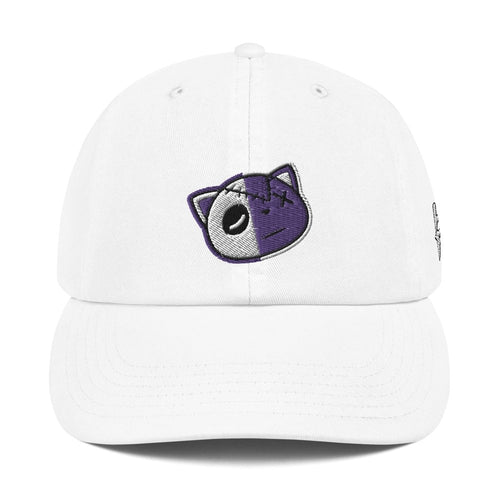 Have Faith (Metallic Purple Retro 4's) Champion Dad Hat - Sneaker Combos