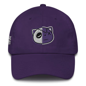 Have Faith (Metallic Purple Retro 4's) Dad Hat - Sneaker Combos