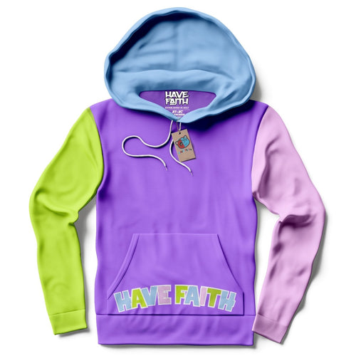 Have Faith (Multi Color) Hoodie - Sneaker Combos