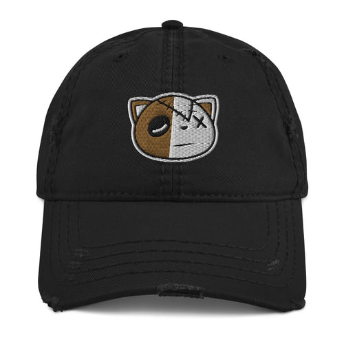 Have Faith (OG Black Metallic Gold Retro 1's) Distressed Dad Hat - Sneaker Combos
