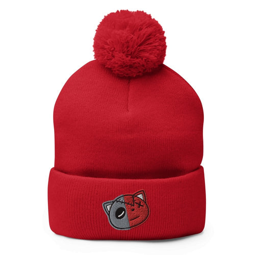 Have Faith (Raging Bull Retro 5's) Pom-Pom Beanie - Sneaker Combos