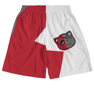 Have Faith (Retro 13 Red Flint) Jogger Shorts - Sneaker Combos