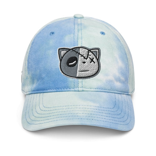 Have Faith (Retro 4 University Blue) Tie Dye Dad Hat - Sneaker Combos