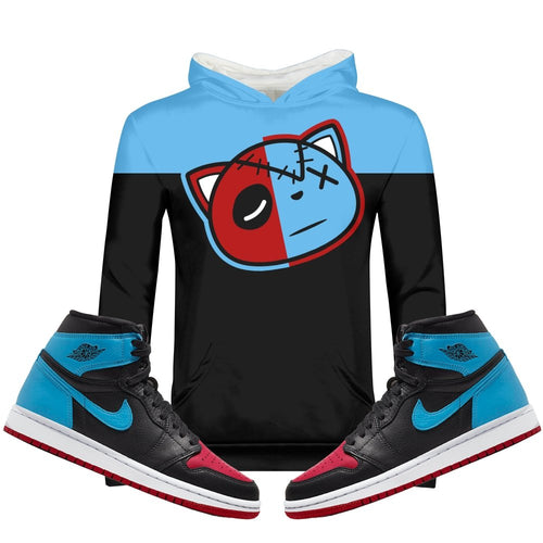 Have Faith (UNC To CHI Retro 1's) Kids Hoodie - Sneaker Combos