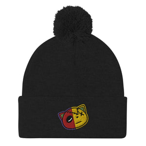 Have Faith (What The Retro 5's) Pom-Pom Beanie - Sneaker Combos