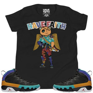 HF In The Fort (Dream It, Do It 9's) Youth Short Sleeve T-Shirt - Sneaker Combos