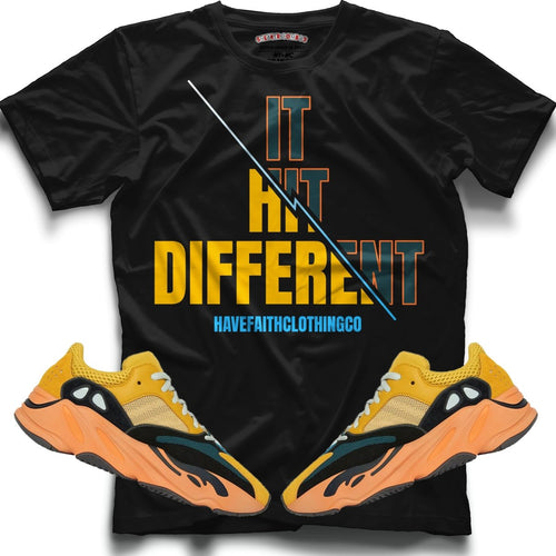 It hit different (Boost 700 Sun) T-Shirt - Sneaker Combos