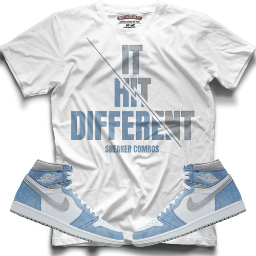 It Hit Different (High Og Hyper Royal 1's) T-Shirt - Sneaker Combos