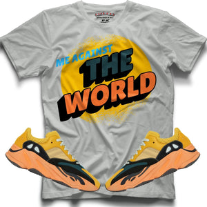 Me against the world (Yeezy Boost 700 Sun) T-Shirt - Sneaker Combos