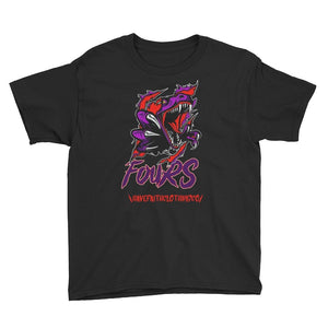 Raptor Fours (NRG Raptor 4's) Youth Short Sleeve T-Shirt - Sneaker Combos