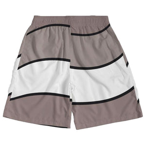 Sunset (Taupe Retro 4's) Jogger Shorts - Sneaker Combos