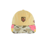 Floral Camo Tan Dad Cap