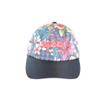 Floral Tribal Black Dad Cap
