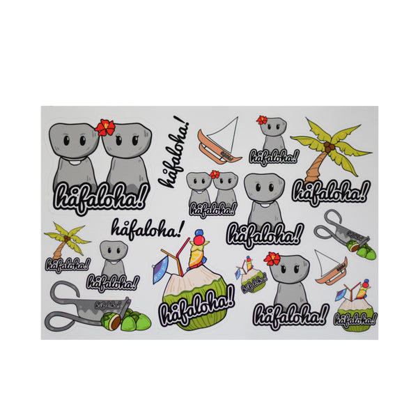 Guam Edition Sticker Sheet