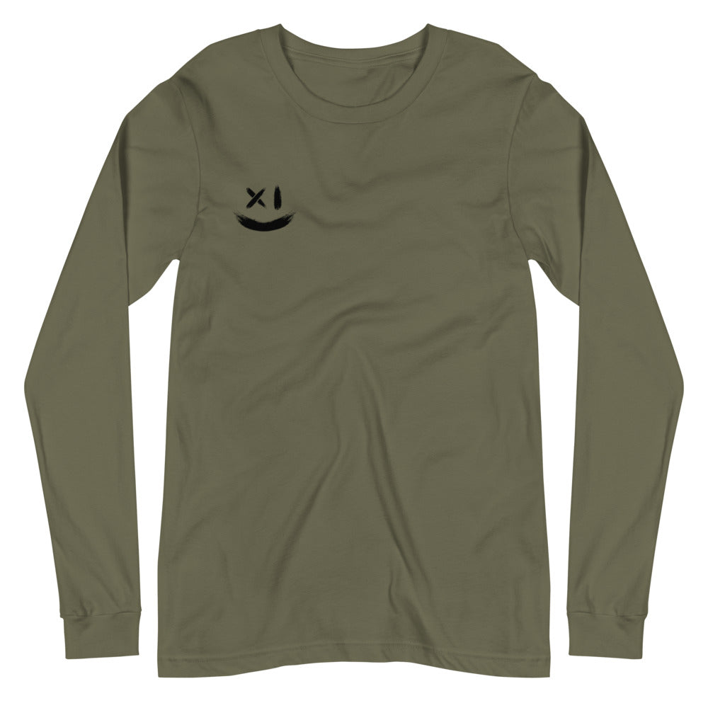Women's Long Sleeve Tee - Olive