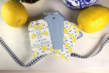 Load image into Gallery viewer, Lemon Chinoiserie Gift Tags