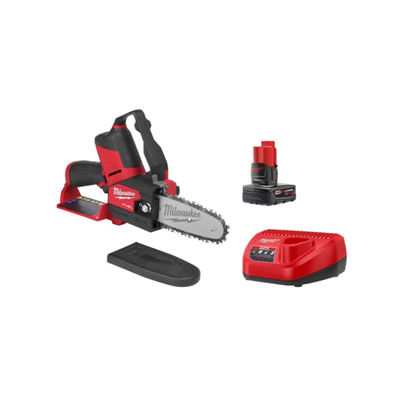 M12 FUEL 12-Volt Lithium-Ion Brushless Cordless 6 in. HATCHET Pruning Saw Kit