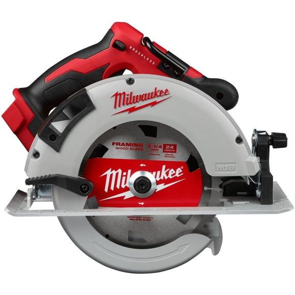 M18 18-Volt Lithium-Ion Brushless Cordless 7-1/4 in. Circular Saw