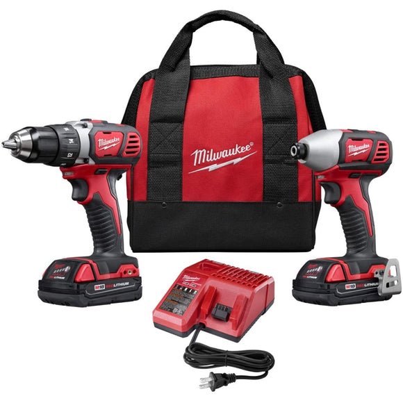 M18 18-Volt Lithium-Ion Cordless Drill Driver/Impact Driver Combo Kit