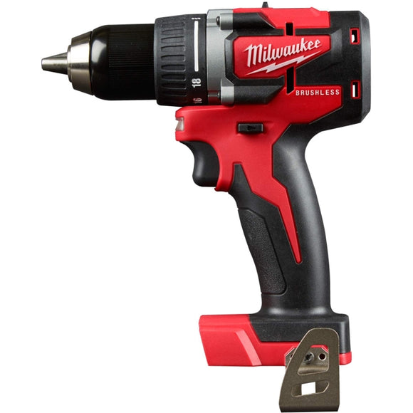 M18 18-Volt Lithium-Ion Brushless Cordless 1/2 in. Compact Drill/Driver
