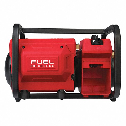 2 Gal. M18 FUEL 18-Volt Lithium-Ion Brushless Cordless Electric Compact Quiet Compressor