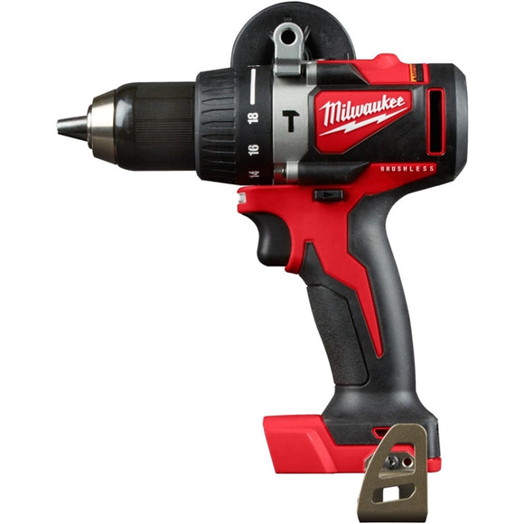 M18 18-Volt Lithium-Ion Brushless Cordless 1/2 in. Compact Hammer Drill