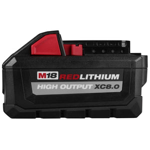 M18 18-Volt Lithium-Ion HIGH OUTPUT XC 8.0 Ah Battery Pack