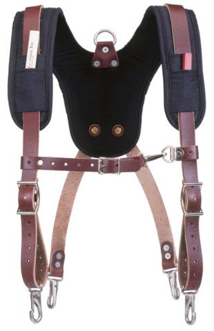 Occidental Leather 5055 Stronghold Suspender System with Padded Shoulders for Tool Bags and Belts