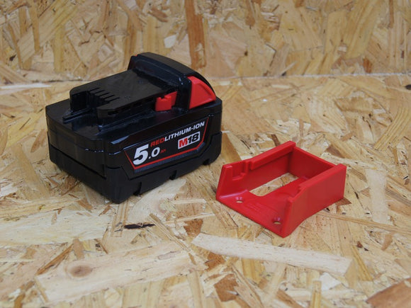 Milwaukee M18 Cordless Tool Battery Mounts (6-Pack)