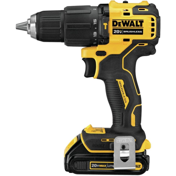 ATOMIC 20-Volt MAX Cordless Brushless Compact 1/2 in. Hammer Drill Kit