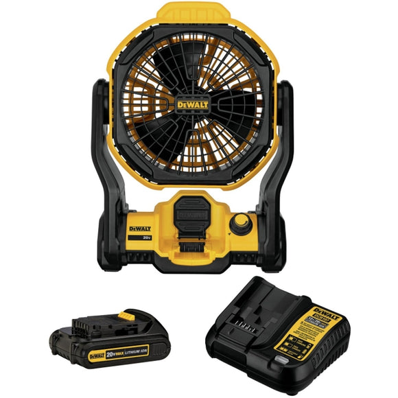20-Volt Max Jobsite Fan Kit