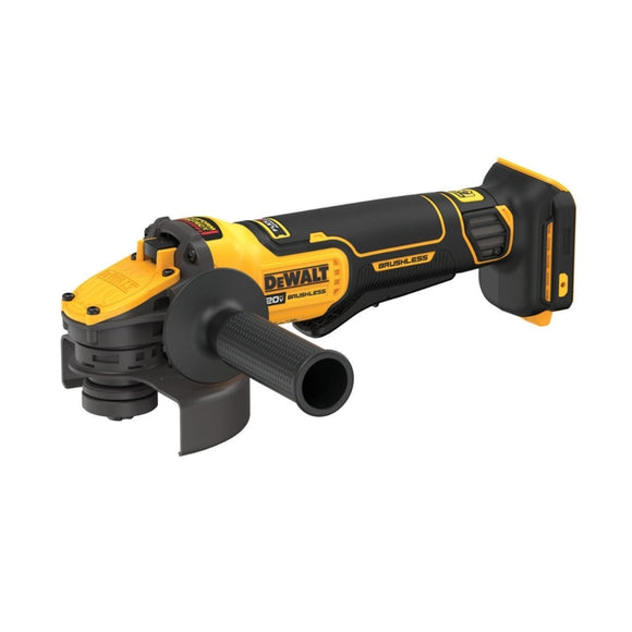 20-Volt MAX Cordless Brushless 4-1/2 to 5 in. Paddle Switch Angle Grinder with FLEXVOLT ADVANTAGE