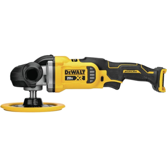 20-Volt MAX XR Cordless Brushless 7 in. Variable Speed Rotary Polisher