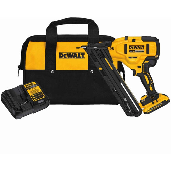 20-Volt Max Lithium-Ion Cordless 15-Gauge Finish Nailer Kit