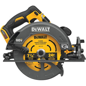 FLEXVOLT 60-Volt MAX Cordless Brushless 7-1/4 in. Circular Saw with Brake