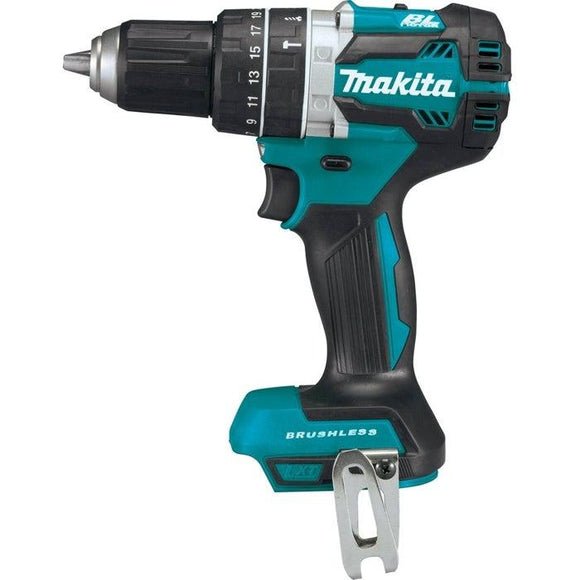 18-Volt LXT Lithium-Ion 1/2 in. Brushless Cordless Hammer Driver-Drill