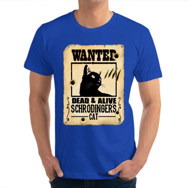 Wanted Schrodingers Cat T-shirt