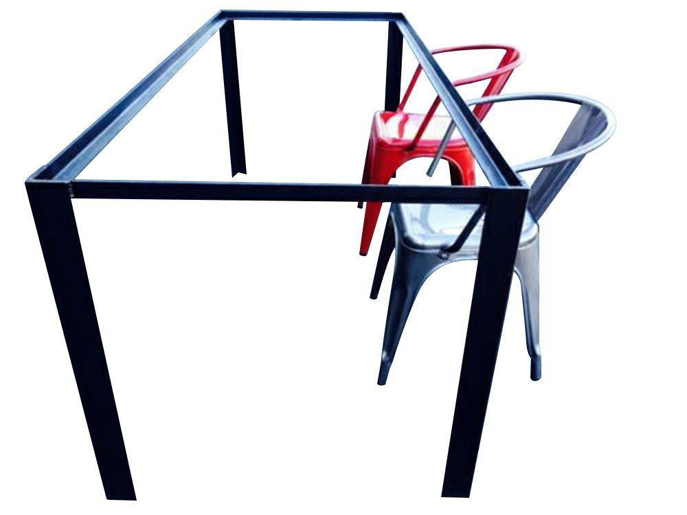 iron metal table frame industrial furniture