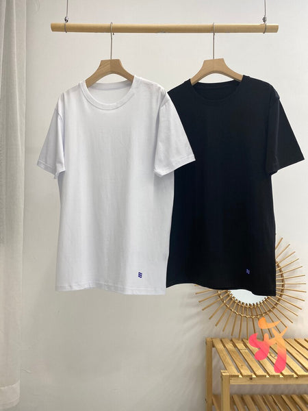 ADER ERROR Two-pack Loose Bottoming Shirt High Quality Hem Mouth Logo Men's Clothing Adererror Solid Color Women's T Shirt