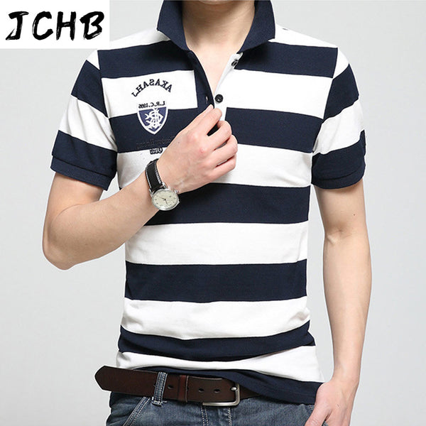 Mens 2021 Casual T Shirt New Arrivals Cotton Tshirt Summer Men's Short Sleeved T-Shirts XXXL 4XL Striped Tops Tees Brand Clothes