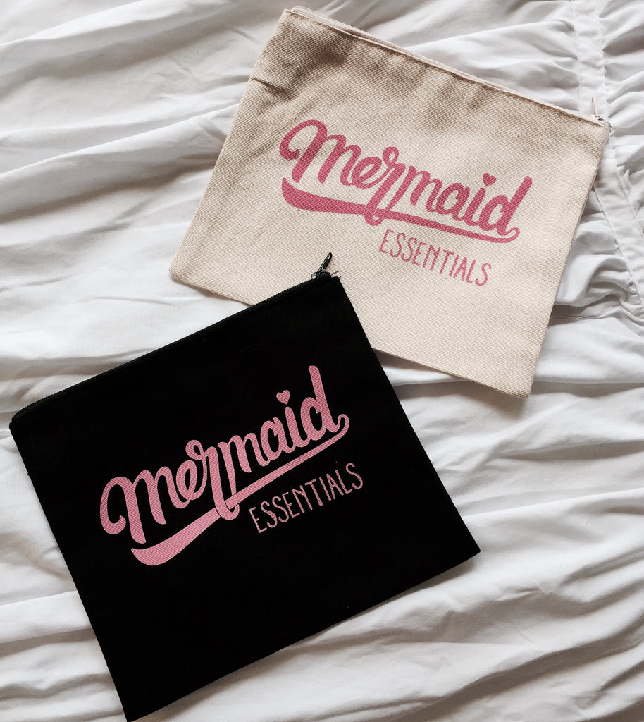 Mermaid Essentials Make Up Bag