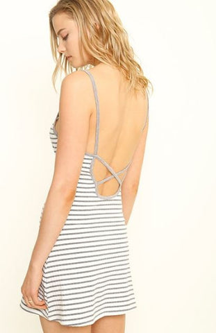 Simply Striped Jersey Dress