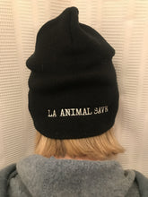 Load image into Gallery viewer, LA Animal Save Vegan Beanie