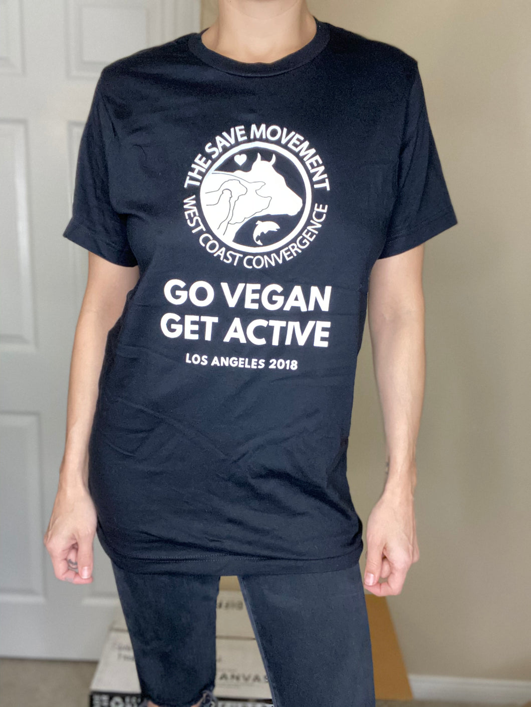 Go Vegan Get Active Tee (Limited Stock)