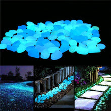 Load image into Gallery viewer, Glow In The Dark Garden Pebbles